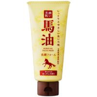 馬油 洗顔フォーム 昔ながらの石鹸の香り 120g