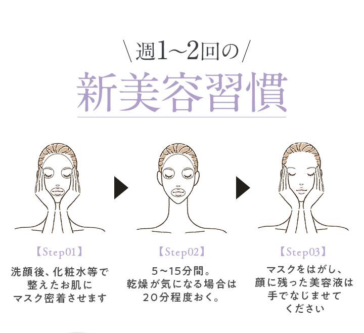 週1~2回の新美容習慣